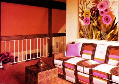 interieur jaren 70